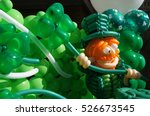 St. patrick's day balloon art