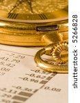 antique gold pocket watch | Shutterstock . vector #5266828