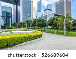 town square in shenzhen china. | Shutterstock . vector #526689604