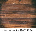 old wood texture  copy space | Shutterstock . vector #526694224