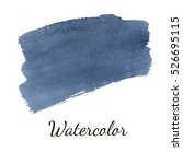 abstract watercolor brush... | Shutterstock .eps vector #526695115