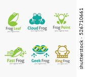 Frog Logo Design Template....