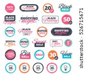sale shopping stickers and... | Shutterstock . vector #526715671