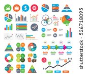 business charts. growth graph.... | Shutterstock . vector #526718095