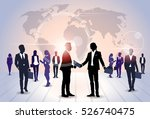 business people group... | Shutterstock .eps vector #526740475