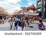 tokyo  japan   october 07  ... | Shutterstock . vector #526741009