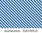 Blue Stripes On White...