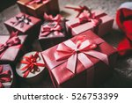 stylish design background boxes ... | Shutterstock . vector #526753399