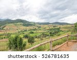 rice terraces and corn field on ... | Shutterstock . vector #526781635