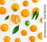 mandarin. white background.... | Shutterstock . vector #526782331