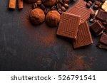 variety of sweet homemade... | Shutterstock . vector #526791541