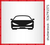 car icon vector illustration... | Shutterstock .eps vector #526791571