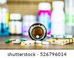 drug prescription for treatment ...   Shutterstock . vector #526796014
