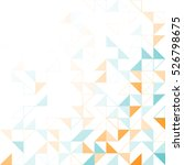 geometric simple minimalistic... | Shutterstock .eps vector #526798675