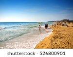 Beach On The Golden Sands ...