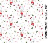 christmas vector christmas... | Shutterstock .eps vector #526817509