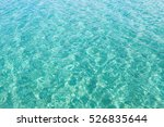 turquoise water background... | Shutterstock . vector #526835644