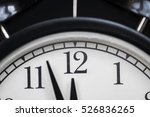 close up view of the clock... | Shutterstock . vector #526836265