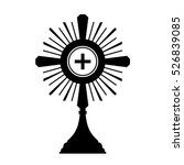 monstrance | Shutterstock .eps vector #526839085