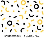 geometric vector pattern with... | Shutterstock .eps vector #526862767