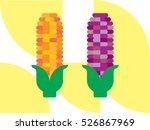 two corn ears