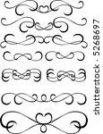 design elements | Shutterstock .eps vector #5268697
