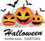halloween pumpkin | Shutterstock .eps vector #526871641