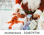 Santa Claus Doing Christmas...