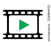 film strip vector | Shutterstock .eps vector #526884931