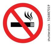 no smoke vector | Shutterstock .eps vector #526887019