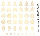 simple decoration elements for...   Shutterstock .eps vector #526890415