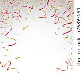congratulatory background with... | Shutterstock .eps vector #526897591