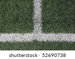White Lines On Turf