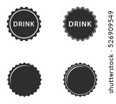 Bottle Cap Vector Icons Set....