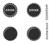 Bottle Cap Vector Icons Set....