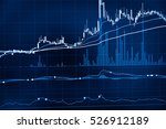 charts of financial instruments ... | Shutterstock . vector #526912189