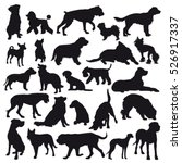 Vector Dog Breed Silhouettes...