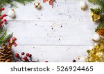 art christmas holidays... | Shutterstock . vector #526924465