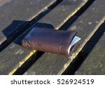 the lost wallet with cash on a...   Shutterstock . vector #526924519