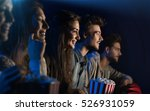 group of teenager friends at... | Shutterstock . vector #526931059