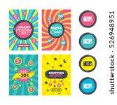 sale website banner templates.... | Shutterstock .eps vector #526948951