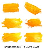 collection of photos yellow... | Shutterstock . vector #526953625