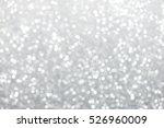 silver glitter christmas... | Shutterstock . vector #526960009