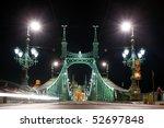Liberty Bridge In Budapest At...