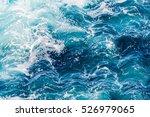 atlantic ocean with blue water... | Shutterstock . vector #526979065