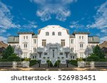 architectural buildings along... | Shutterstock . vector #526983451