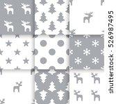 set of scandinavian trend... | Shutterstock .eps vector #526987495