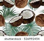 beautiful seamless vector... | Shutterstock .eps vector #526992454