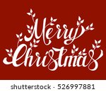 "lettering with the words ""merry ... 