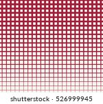 abstract red geometric hipster... | Shutterstock .eps vector #526999945